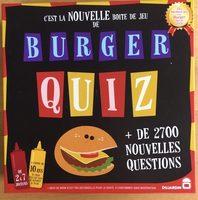Burger Quiz - Product