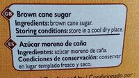 Sucre roux de canne - Ingredients