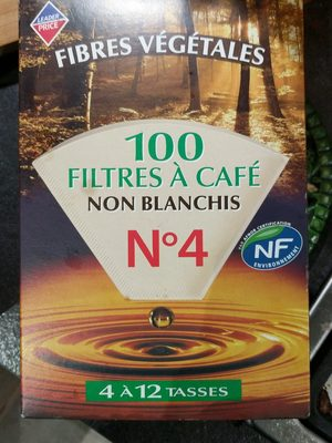 100 filtres à café - Product
