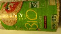 galettes aux 4 céréales bio - Product