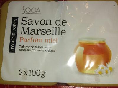 savon de Marseille parfum miel - Produit