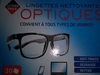 lingettes nettoyantes optiques - Product - fr