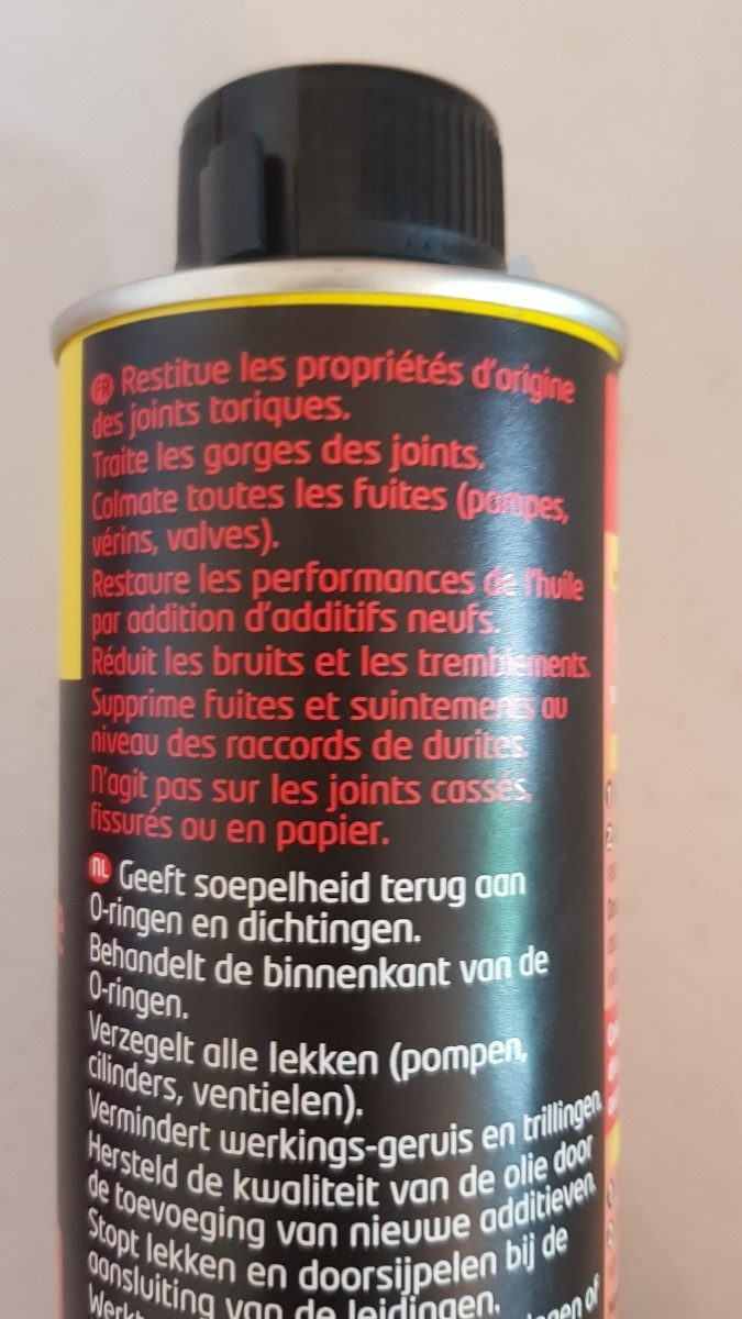 Stop fuite - Ingrédients