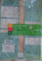 haricots verts tres fin - Produit