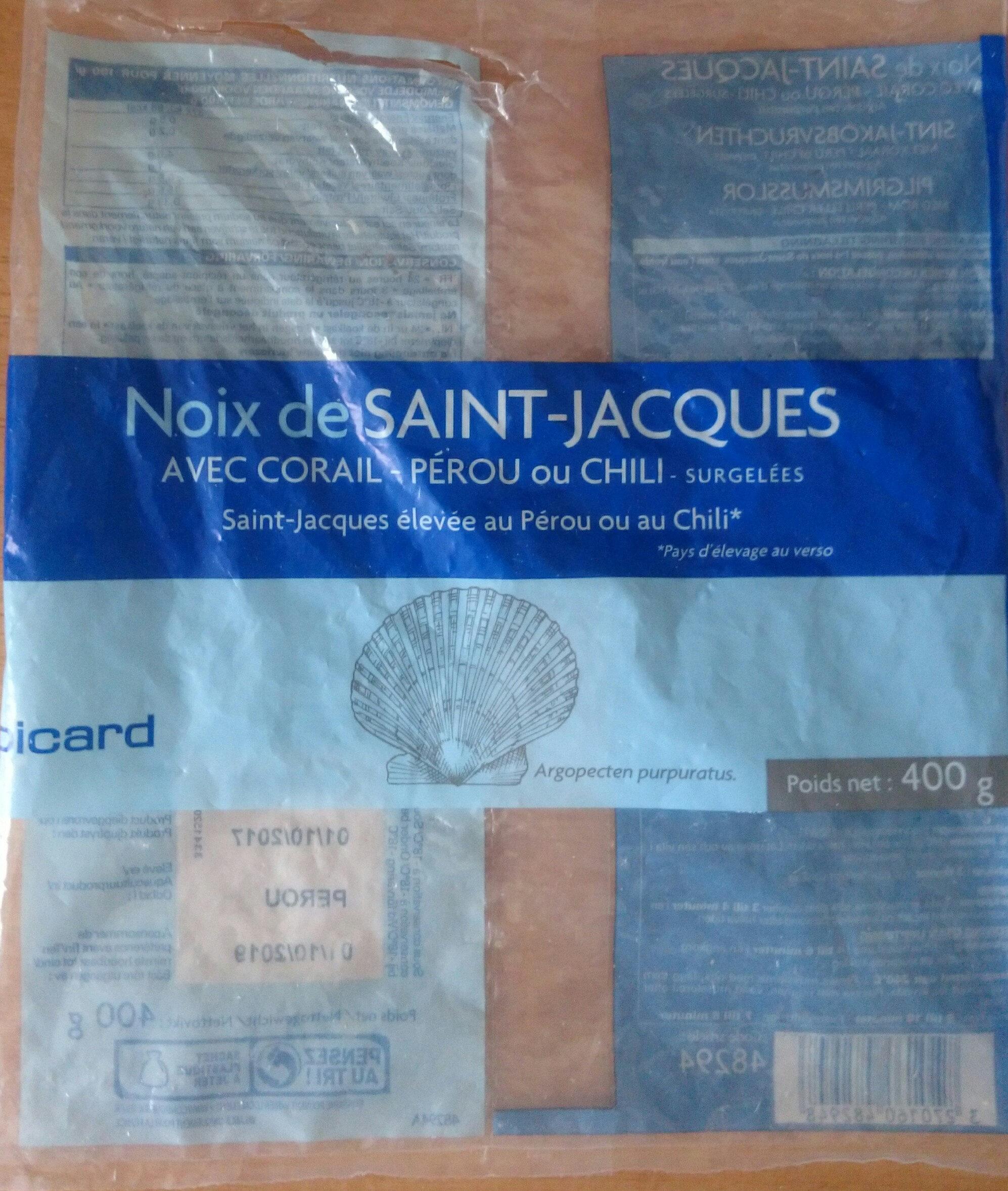 noix de saint jacques - Product - fr