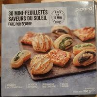 minis feuilletés saveurs soleil - Product - fr