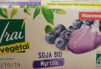soja bio myrtille - Product - fr