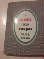 Cahier - Product