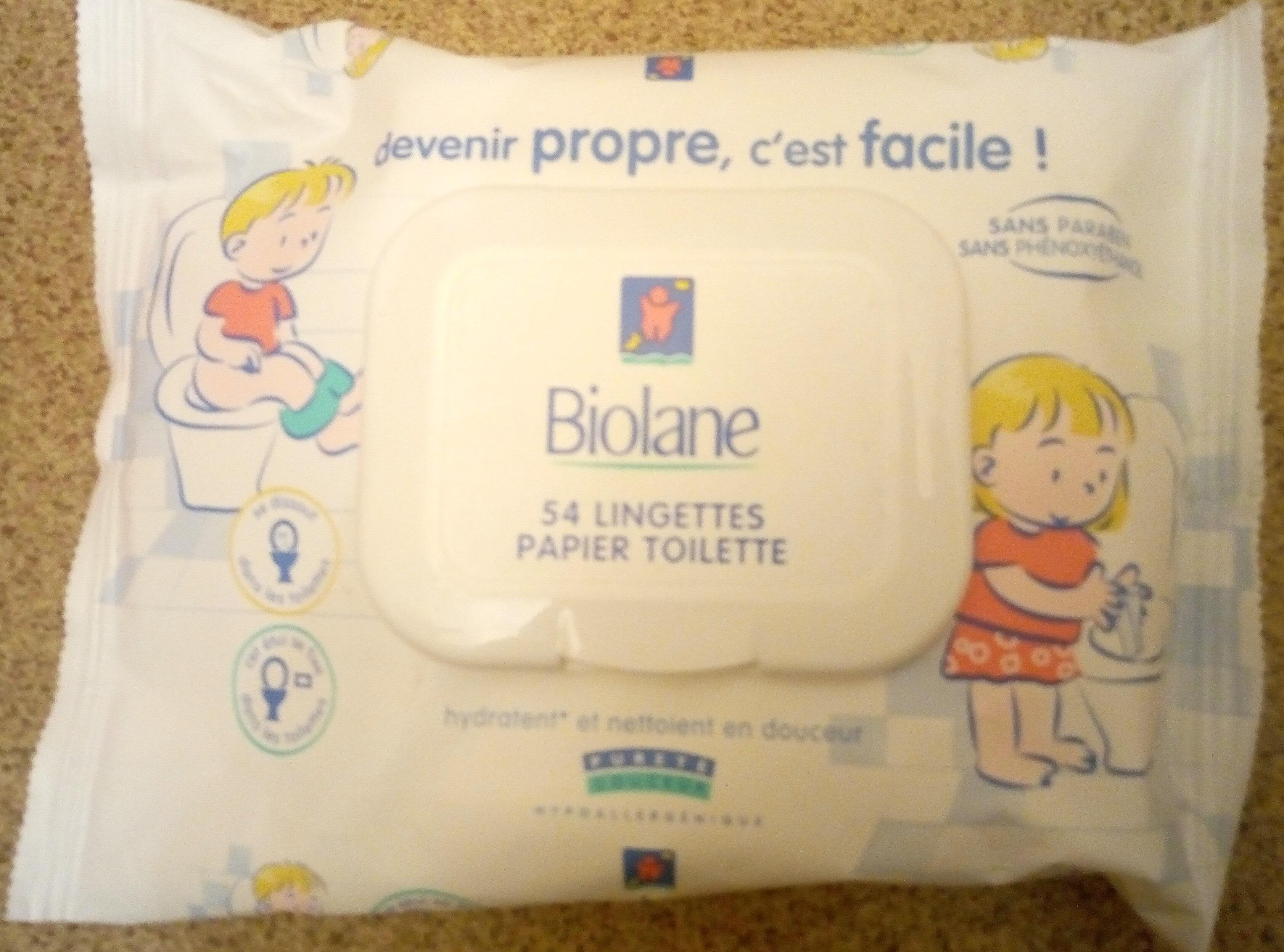 lingettes papier toilette - Product