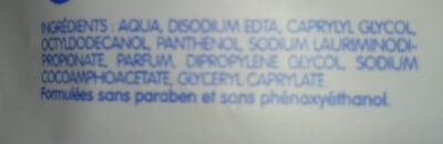 lingettes papier toilette - Ingredients