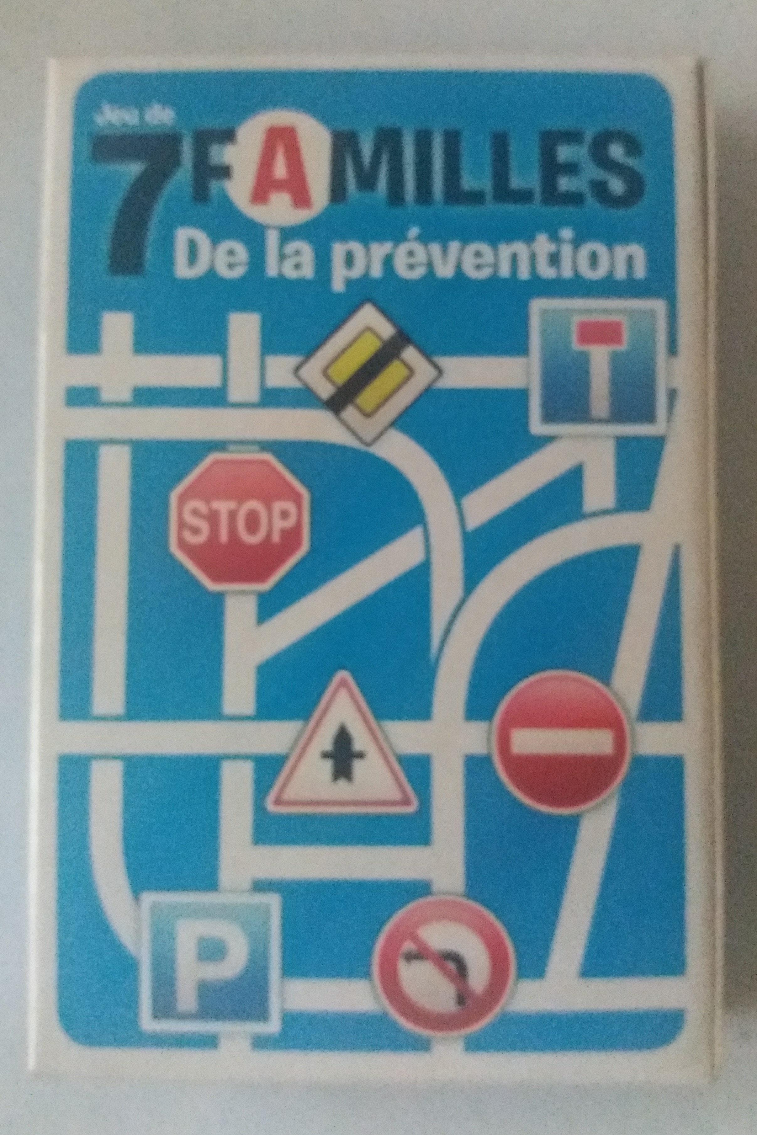 Jeu de 7 familles de la prévention - Product - fr