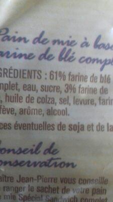 Allumettes - Ingredients - fr