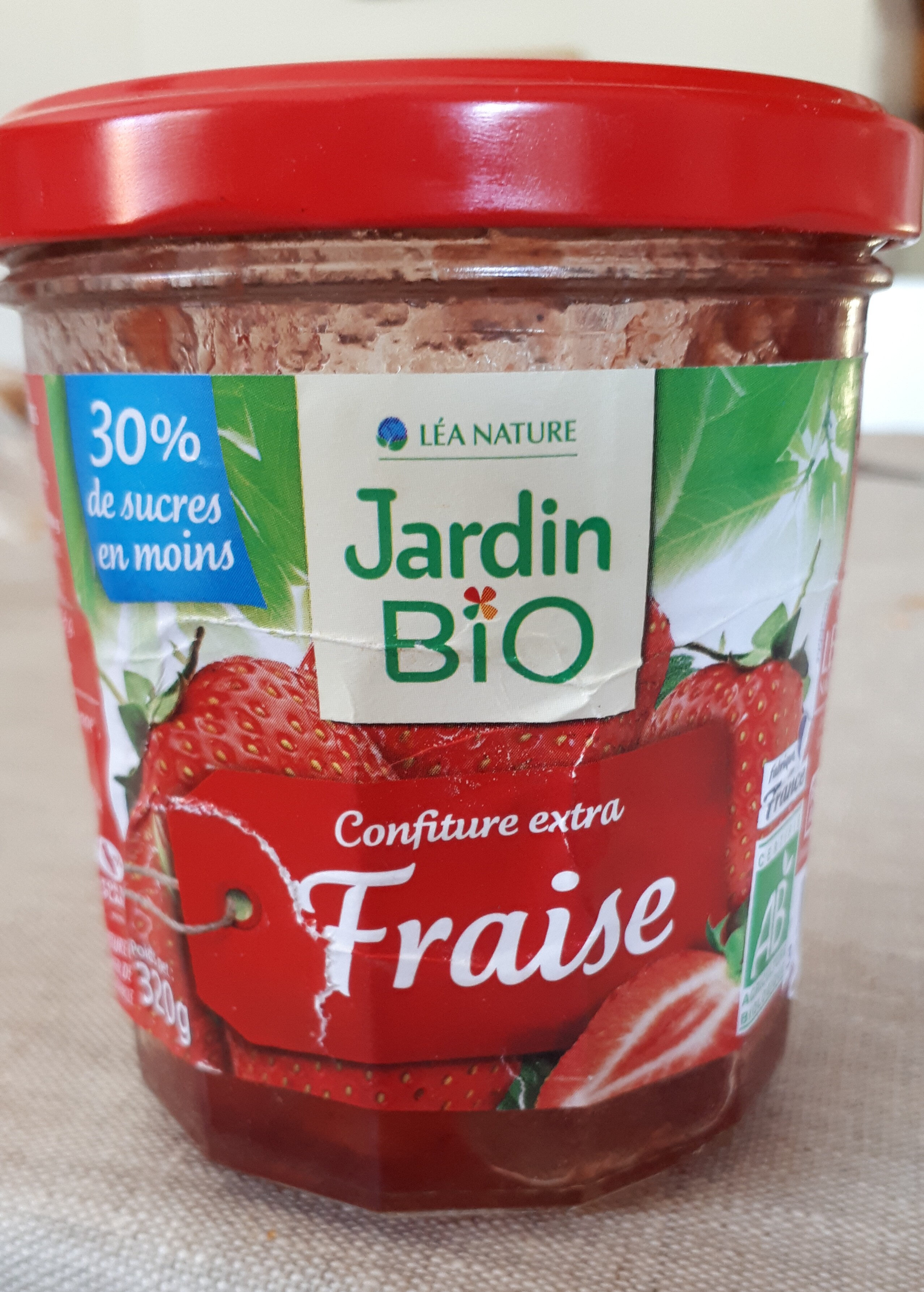 confiture extra fraise - Product