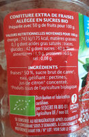 confiture extra fraise - Ingredients - fr