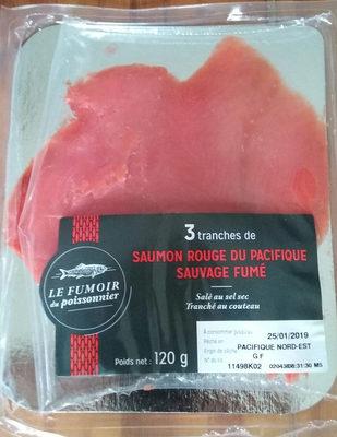 saumon rouge du pacifique sauvage fumé - Product