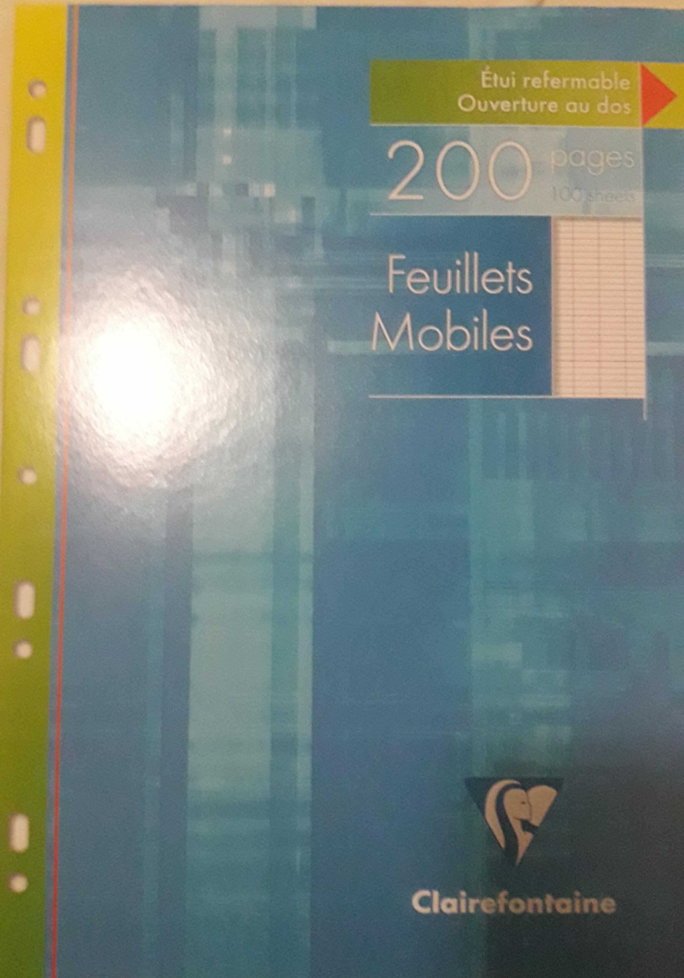 Feuillets mobiles - Produit