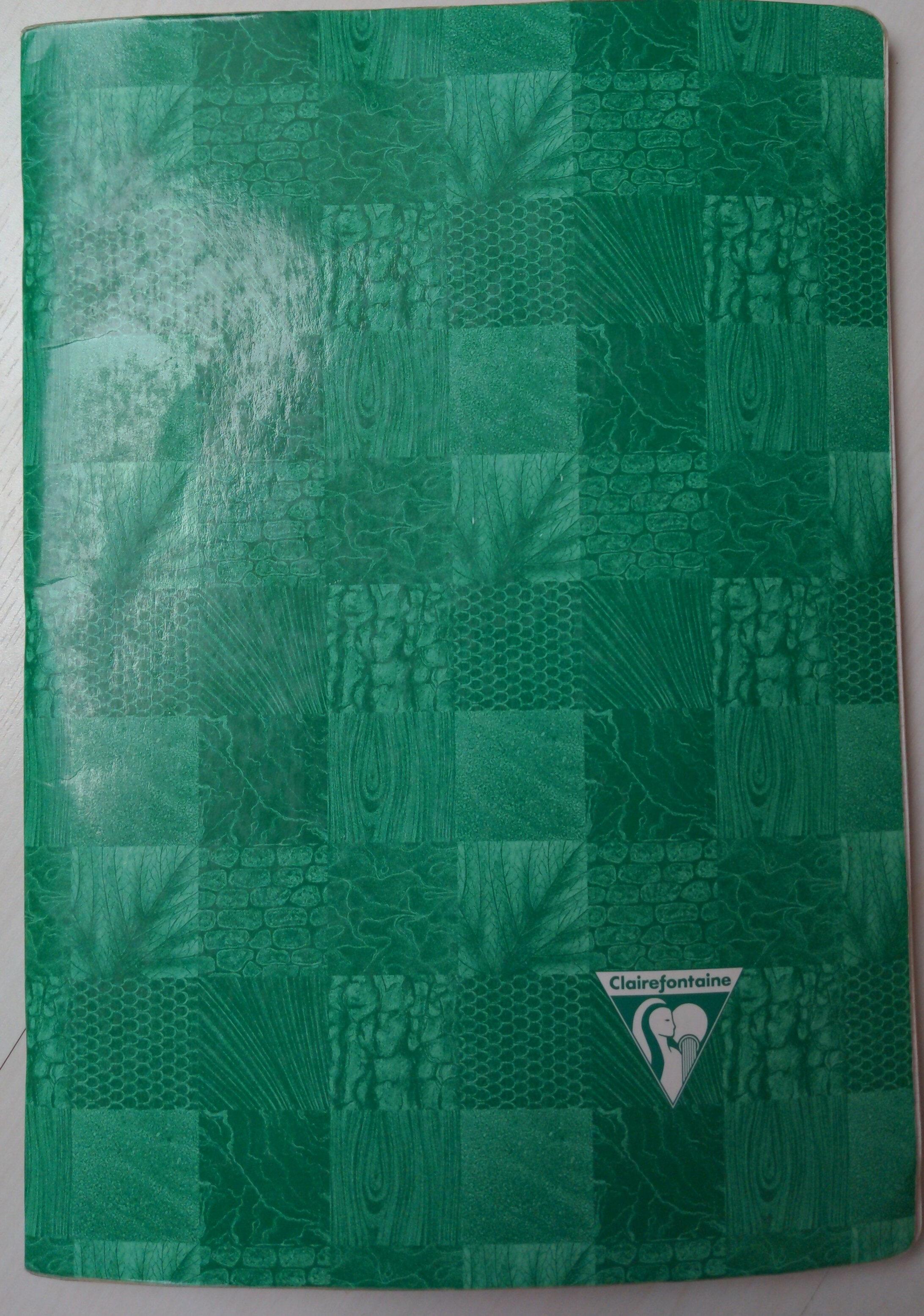 Cahier A4, grands carreaux, 96 pages - Product - fr