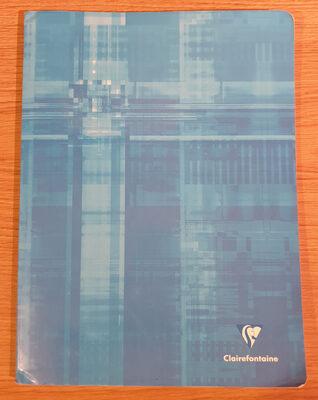 Cahier 24 x 32 cm, 96 pages, petits carreaux - Product