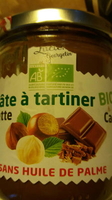 pâte a tartiner noisette - Product