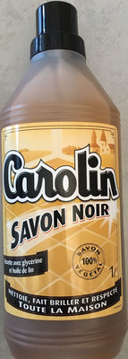 Flacon 1L Savon Noir Carolin - Product