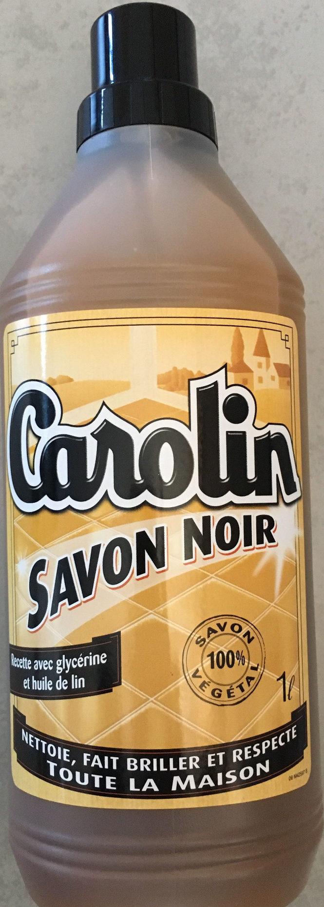 Flacon 1L Savon Noir Carolin - Produit
