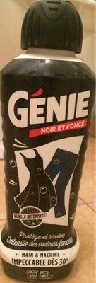 Lessive genie noir et foncé - Produit