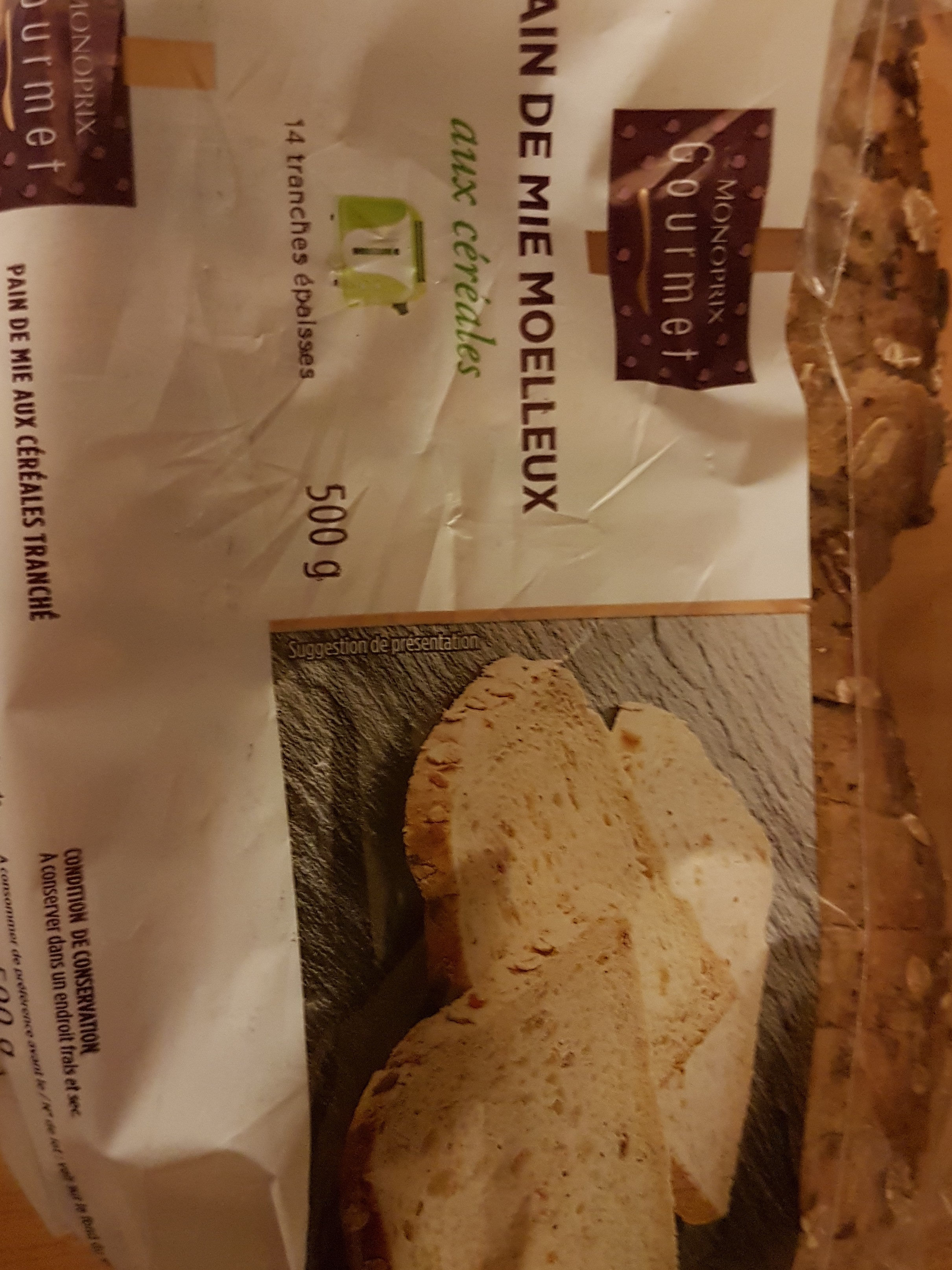paim de mie moelleux aux céréales - Produit - fr