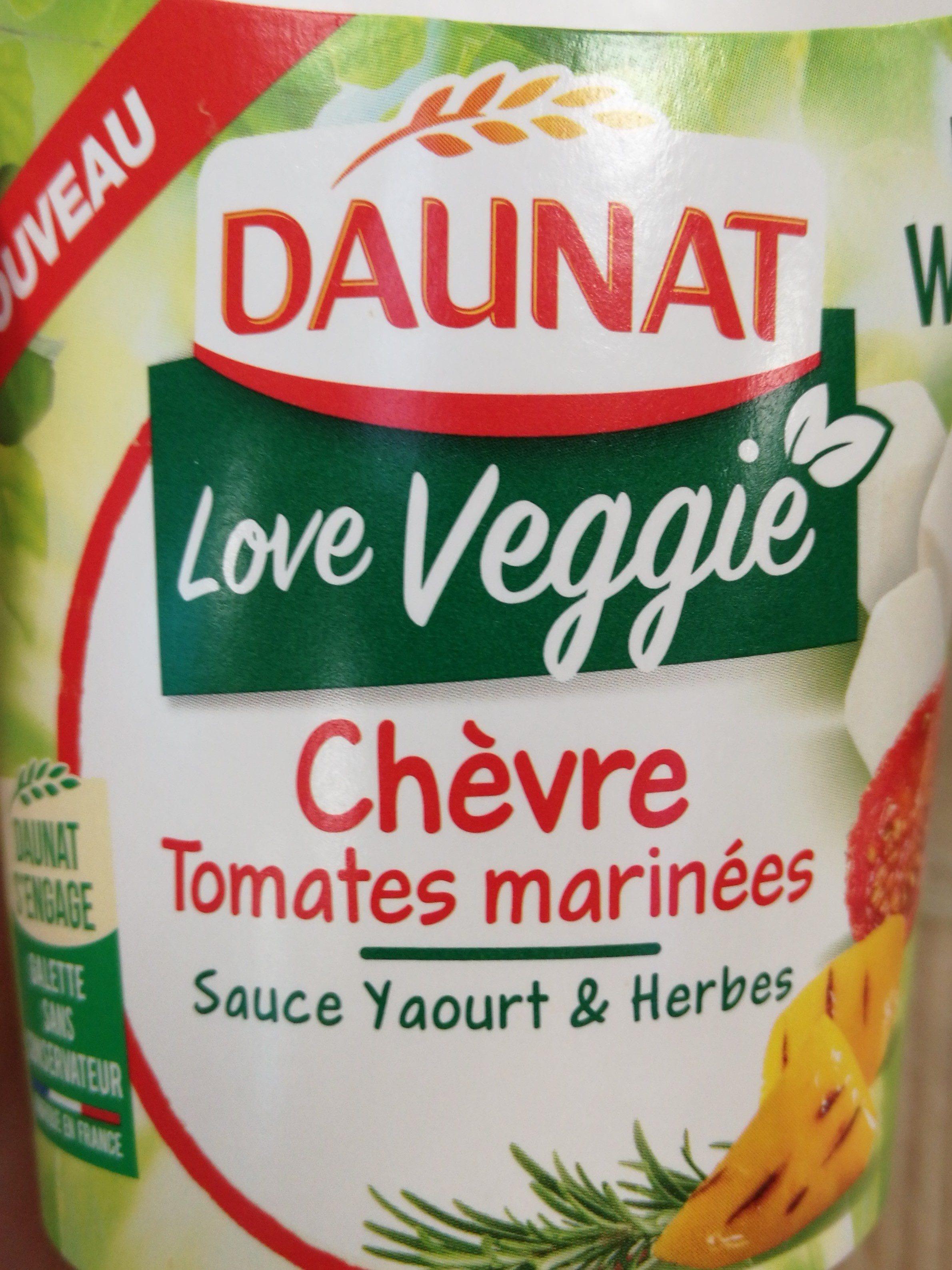 Love veggie chèvre tomates marinées - Product - fr
