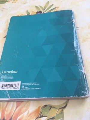 Petit cahier ligné carrefour - Product