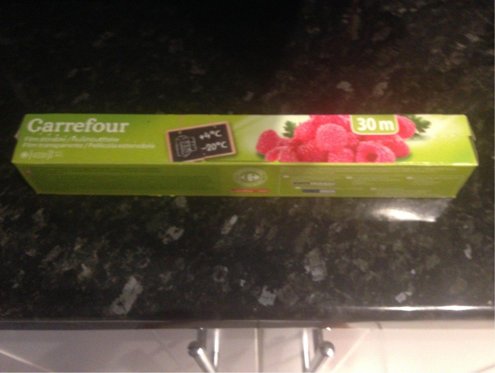 Film étirable, Le Rouleau De 30 Mètres, Marque Carrefour - Product - fr