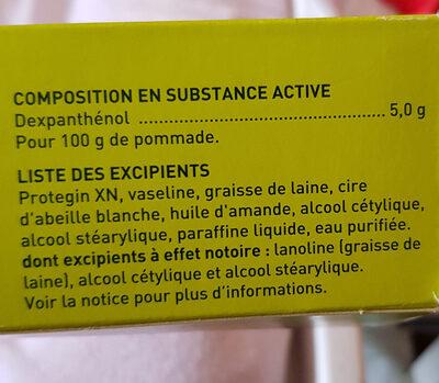 Dexpanthénol Biogaran Conseil 5% - Ingredients - fr
