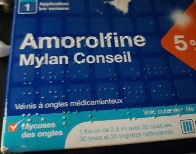 Amorolfine - Produit - fr