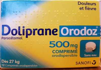 Doliprane Orodoz - Produit - fr