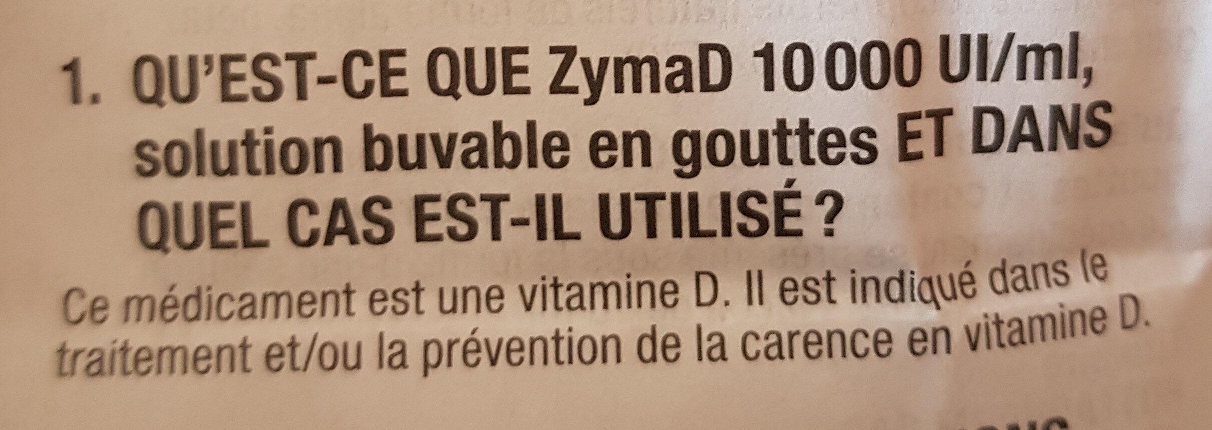Zyma D - Ingredients