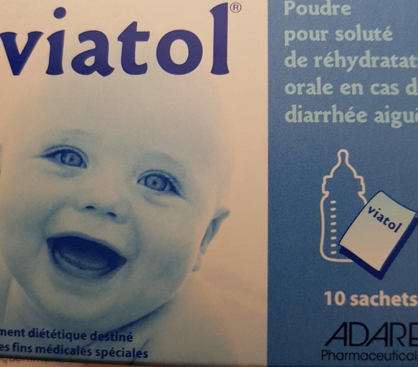 Viatol Soluté De Rehydratation Par Voie Orale 10 Sachets - Product