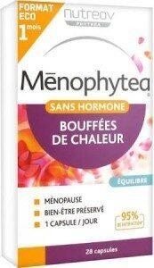 Ménophytea Bouffées De Chaleur Sans Hormone 28 Capsules Nutreov - Product - fr