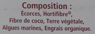 Terreau armoricain universel - Ingredients - fr