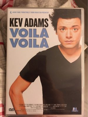 DVD Kev Adams - Voilà Voilà - Produit