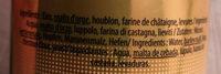 Pierra bionda - Ingredients
