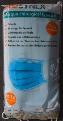 Masque chirurgical type II R - Produit - fr