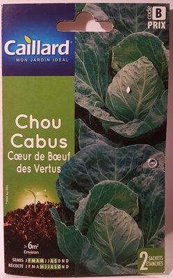 Chou Cabus Cœur de Bœuf des Vertus - Product - fr