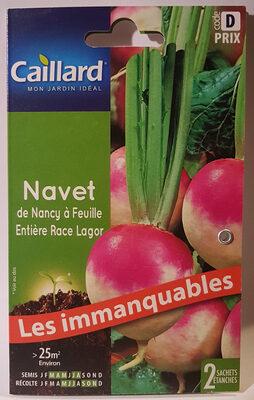 Navet de Nancy à Feuille Entière Race Lagor - Product - fr