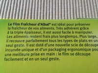 Film fraicheur - Ingredients - fr