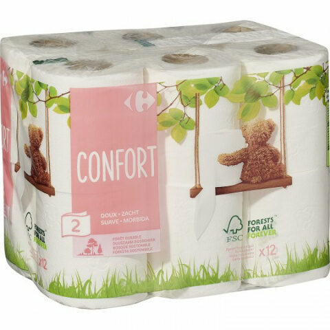 papier toilette confort doux - Product - en