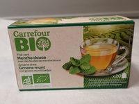 thé vert menthe douce - Product
