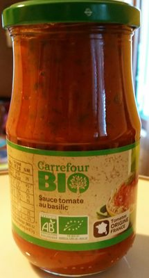 Carrefour Bio Sc Tomate au basilic - Produit