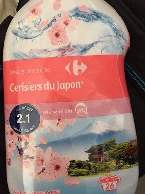 lessive concentrée cerisiers du Japon - Produit