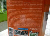 spray cuisine au savon de Marseille - Ingredients - fr