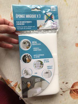 Éponge magiqueX3 - Produit