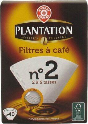 Filtres café n°2 x40 - Product - fr